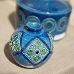 céramique bleue samantha
